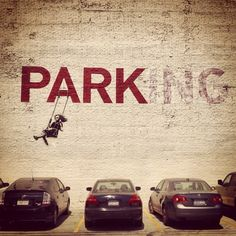Work by #Banksy • PARKING