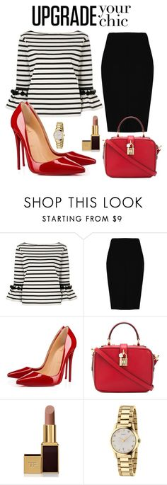 """set 92"" by pushkaash ❤ liked on Polyvore featuring Marc Jacobs, Boohoo, Christian Louboutin, Dolce&Gabbana, Tom Ford and Gucci"