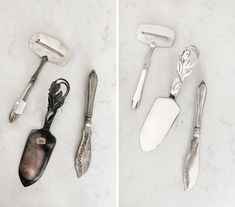 Before and after - polish your silverware with baking soda - Read more here: Trendenser. Diy Home Decor On A Budget, Diy Room Decor, Bra Hacks, Diy Headboards, Fresh And Clean, Diy Wood Projects, Diy Table, Make It Simple, Thrifting