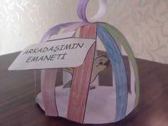 EMANET KUŞ-GÜVENİLİR İNSAN PROJESİ Origami, Communication, Preschool, Arts And Crafts, Student, How To Plan, Education, Youtube, Candle