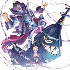 Ryuji's Persona, Captain Kidd