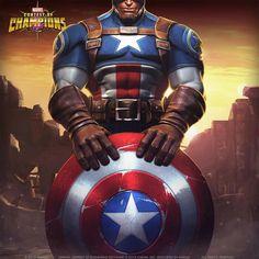 Capitán América Captain Marvel, Marvel Dc, Marvel Comics, Capitan America Marvel, Captain America, Civil Warrior, Marvel Games, Contest Of Champions, Black Paper Drawing