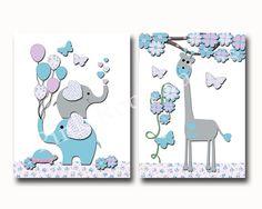 Items similar to Children wall art, baby boy wall decor, Kids room decor, baby boy nursery art, wall art for kids, nursery giraffe, little boy room decor on Etsy