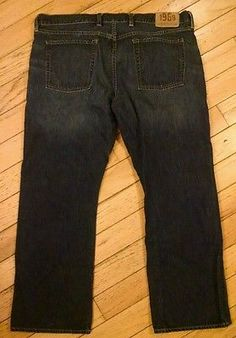 GAP 1969 Mens Low Rise Boot Fit Jeans Size 40 x 30 Great Condition