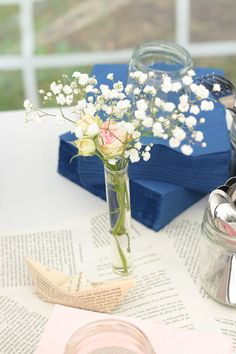 #weddingflowers #roses #origami #DIY #tablerunner #handmade