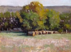 Buy Hay Bales near Vilhosc, Oil painting by Pascal Giroud on Artfinder. Discover thousands of other original paintings, prints, sculptures and photography from independent artists.