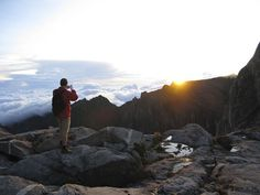 Experience the Breathtaking sunrise from the tallest peak in South East Asia. - Lows Peak on Mount Kinabalu