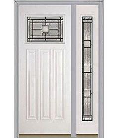 Door with sidelite right. Milliken Millwork. Monterey - 814MO  sc 1 st  Pinterest & Entry door. Single door. Milliken Millwork. 9-Panel - 158 | Entry ...