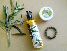 Olive Oil and Pistachio for your Body...and a GIVEAWAY!!!!!