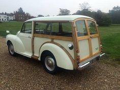 Morris Minor Traveller Restored and Improved For Sale Vintage Cars, Antique Cars, Automobile, Morris Minor, Shooting Brake, Car Stuff, Hot Cars, Ponies, Dream Cars
