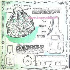 Diy Vintage, Vintage Bags, Vintage Handbags, Design Vintage, Beginner Knitting Patterns, Sewing For Beginners, Vintage Sewing Patterns, Patterns Background, Patron Vintage