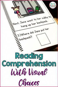 Teach your students how to read and comprehend text in a book format with these reading comprehension books. These books are a natural bridge between reading words in isolation to reading actual books. Each book comes with a data sheet and multiple visual Life Skills Classroom, Autism Classroom, Special Education Classroom, Reading Words, Reading Skills, Self Contained Classroom, Was Ist Pinterest, Education Quotes For Teachers, Speech And Language