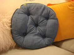 Vintage Nettle Creek tufted mid century by MadCentModernMadness, $19.50