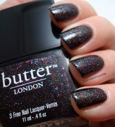 Butter London - The Black Knight #nails