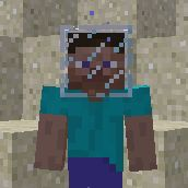 how to wear a block on your head in minecraft