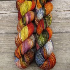 Soul Food - Yummy 2-Ply - Babette | Miss Babs Hand-Dyed Yarns & Fibers, Inc. Need these!!!
