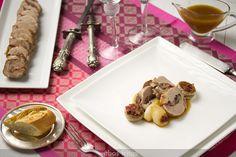 Nueva receta para todos los que os gusten la carne asada al horno: solomillo de cerdo trufado al jerez