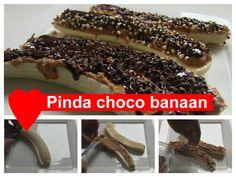 Pinda choco banaan