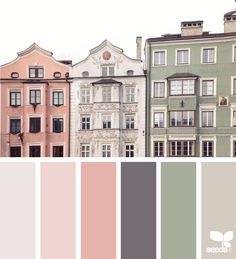 Design Seeds celebrate colors found in nature and the aesthetic of purposeful living. Colour Pallette, Colour Schemes, Color Combos, Vintage Colour Palette, Paint Color Palettes, Pink Palette, Modern Color Palette, Design Seeds, Colour Board