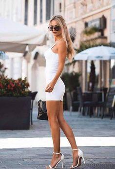 #tshirtstyles #tshirtstyleexploreyourmood #tshirtstyler #tshirtstyle #tshirtstylé #tshirtstylelife #tshirtstylesenseimurah #tshirtstyleonline #tshirtstylekorea #tshirtstyletips Beautiful Legs, Gorgeous Women, Tight Dresses, Sexy Dresses, Women's Fashion Dresses, Girl Fashion, Girls In Mini Skirts, Sexy Legs And Heels, Perfect Prom Dress