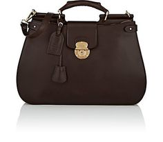 We Adore: The Leather Push-Lock Tote Bag from Boldrini Selleria at Barneys New York