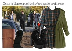 """""""Supernatural"""" by clothesforfuture ❤ liked on Polyvore featuring Forever 21, Wilsons Leather, women's clothing, women's fashion, women, female, woman, misses and juniors"""