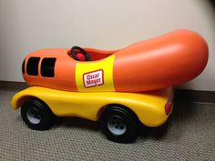 PEDAL CAR - Oscar Mayer Weinermobile Best thing ever