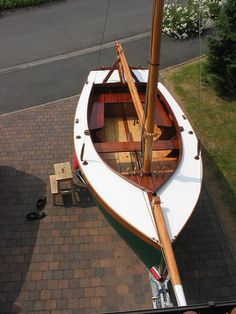 Beg-Meil #1 by Clint Chase Boatbuilder, via Flickr