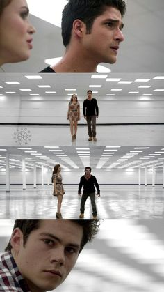 Stiles, Lydia and Scott wallpaper - credits: @xiockscreen on Twitter #teenwolf