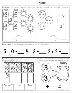 Numbers 1-20 activity sheets! So many DIFFERENT ways to learn and ...