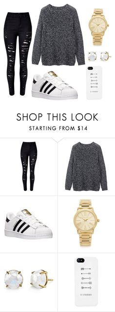 """""""Sin título #52"""" by abril-422 on Polyvore featuring moda, Toast, adidas, Michael Kors y Irene Neuwirth"""