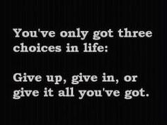You've only got 3 choices... pinned with @PinvolveLove