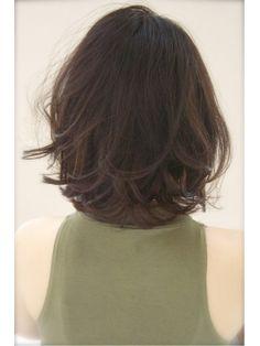 HEYKEL 【へイケル】[黒髪]ダークマーメイドアッシュのナチュラルボブ