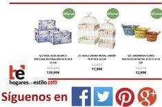 Hoy incorporamos nuevos productos a nuestra web!! #ofertas en hogaresconestilo.com #home #hogar #estilo #deco #decoración