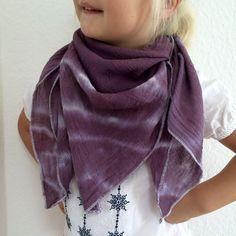 Kiddie-Tuch Baumwollmusselin handgefärbt Batik