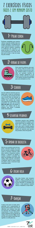 7 exercícios físicos fáceis e sem nenhum custo