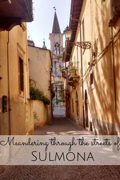 Sulmona is a small historic town in Abruzzo, Italy. See what it has to offer! (scheduled via http://www.tailwindapp.com?utm_source=pinterest&utm_medium=twpin&utm_content=post129408269&utm_campaign=scheduler_attribution)