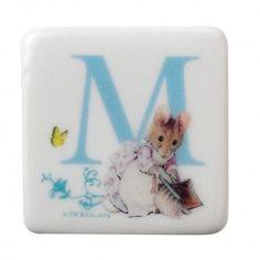 Letter 'M' Hunca Munca Magnet – Modo Creations