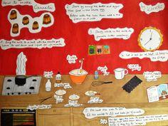 French Bakery, Cake Making, How To Make Cake, Cake Recipes, Vanilla, Illustrations, Holiday Decor, Etsy, Cake Make
