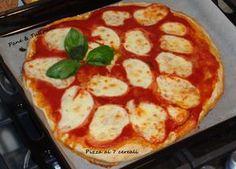PIZZA AI SETTE CEREALI http://blog.cookaround.com/vincenzina52/pizza-ai-sette-cereali/