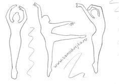 Отличная идея для открытки....балерины... Обсуждение на LiveInternet - Российский Сервис Онлайн-Дневников
