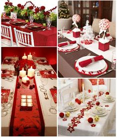 Idee di natale Home Trends home improvement marketing trends Christmas Table Settings, Christmas Tablescapes, Christmas Table Decorations, Decoration Table, Holiday Decor, Christmas Tea, Diy Christmas Gifts, All Things Christmas, Christmas Holidays