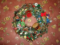 Making a Musical Christmas Wreath: Wordless Wednesday (Day 4 of 25 Days of Christmas) | Parenting Patch