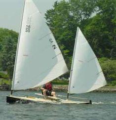 16-30 sailing canoe