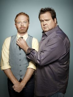 Jesse Tyler Ferguson & Eric Stonestreet - by Art Streiber for Entertainment Weekly.