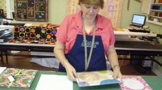 """How to Make a Circle Quilt by MissouriQuiltCo. http://missouriquiltco.com - Jenny shows a fun and easy way to make a beautiful Circle Quilt using layer cakes (10"""" x 10"""" fabric squares)."""