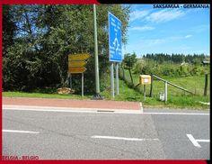 Confini amministrativi - Riigipiirid - Political borders - 国境 - 边界: 2014 BE-DE Belgia-Saksamaa Belgio-Germania