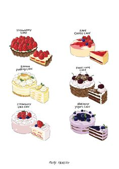 Discover recipes, home ideas, style inspiration and other ideas to try. Cute Food Drawings, Cute Kawaii Drawings, Cute Food Art, Cute Art, Dessert Illustration, Illustration Simple, Illustration Vector, Desserts Drawing, Arte Do Kawaii