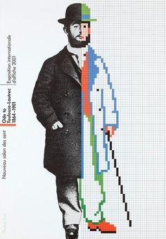 Rosmarie Tissi, Ode to Toulouse-Lautrec 1864-1901, Nouveau salon des cent, Exposition internationale d'affiche, 2001