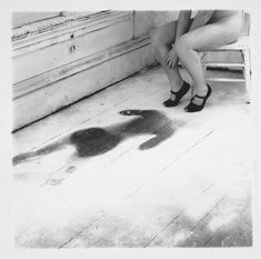 Francesca WOODMAN :: Untitled, 1975 - 1978. Reminds me of something I did on my bedroom floor some time ago.